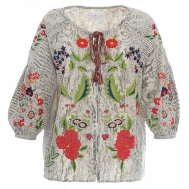 Delfina Embrodiered Jacket
