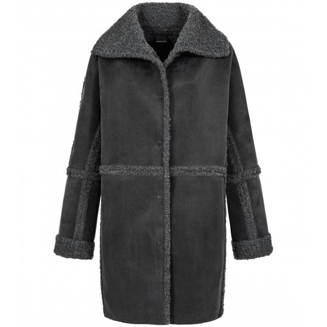 Delta Long Faux Shearling
