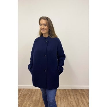 Elif Knitted Long Line Jacket
