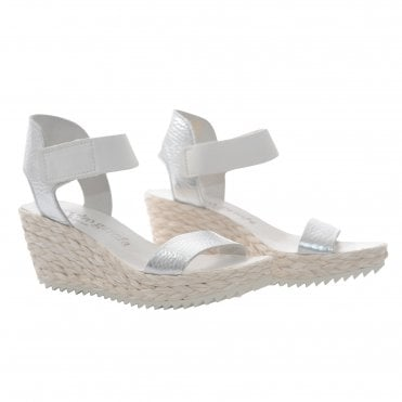 Francesca Raffia Wedge
