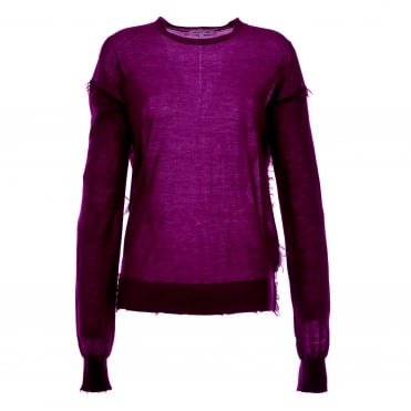 Fray Cashmere Sweater