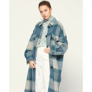 Gabrion Plaid Line Coat