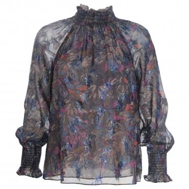 Giverney Print Top