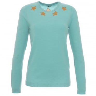 Gold Star Sweater