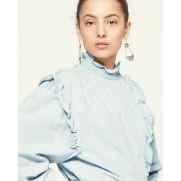 Gossia Over Sized Chambray Shirt
