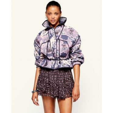 Haines Floral Crop Jacket