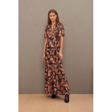 Hide Lurex maxi Dress