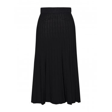 Ira Knit Pleat Compact Skirt