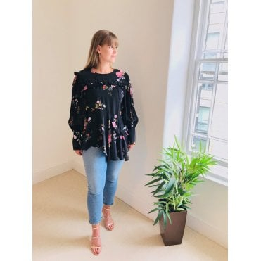 Kapona Floral Long Sleeved Top