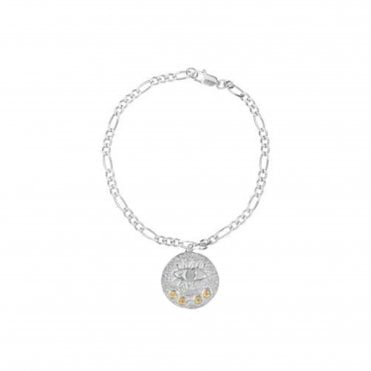 Kressida Bracelet With Medallion