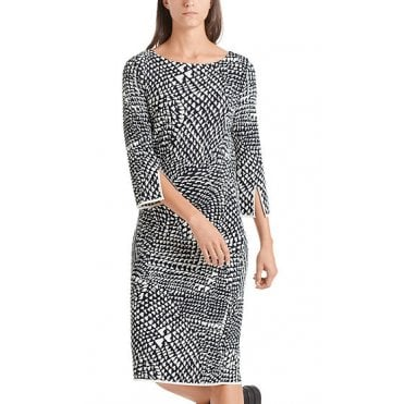 Larva Print Ponte Dress