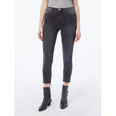 Le High Skinny Crop Raw Edge Chew - Mardel