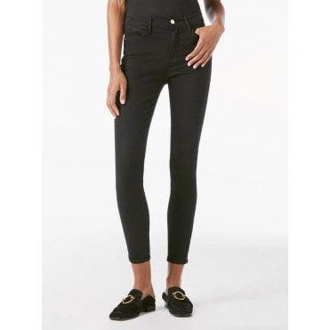 Le High Skinny - Sateen Noir