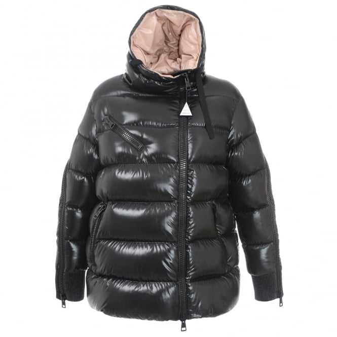 8256e7679 Moncler black liriope down jacket