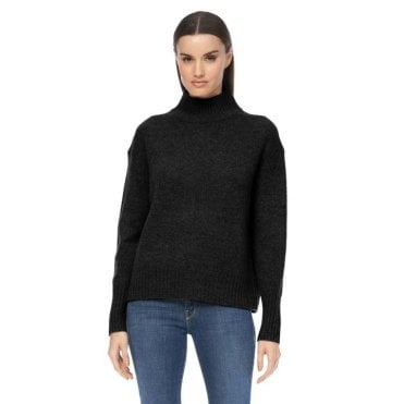 Lyra Funnel Neck Jumper
