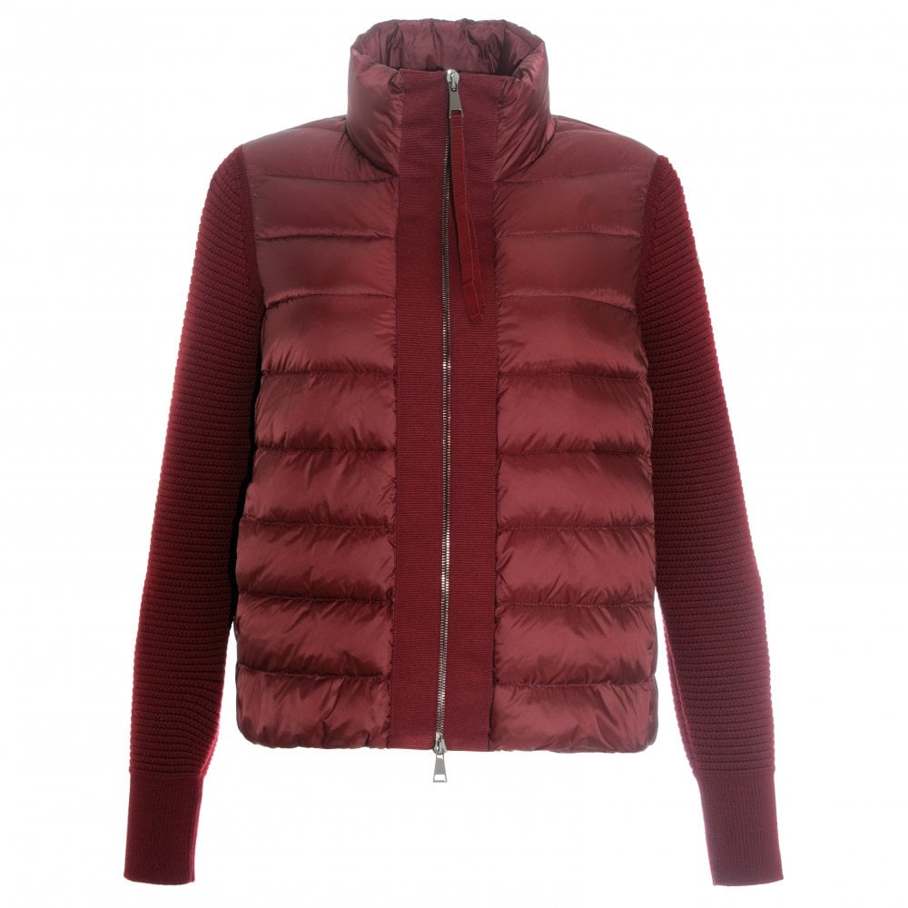 b211821f0 Moncler Maglione quilted down jacket