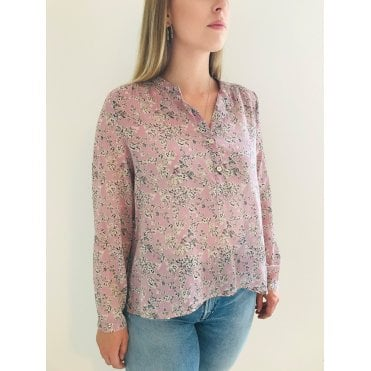 Maria Floral Cotton Boxy Blouse
