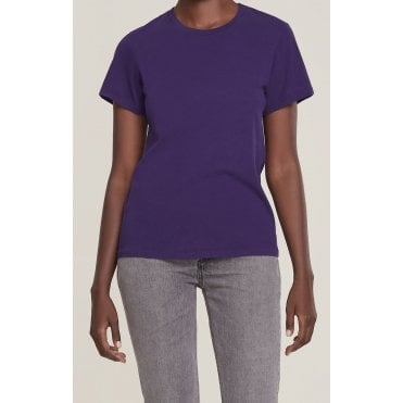 Mariam Classic Fit Tee in Grape