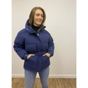 Michlin Belted Puffer