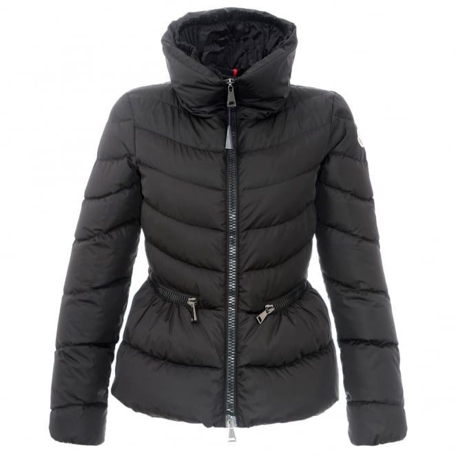932a73b35 Moncler Miriel Black Short Quitled Jacket