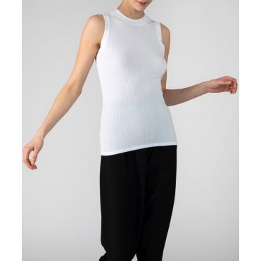 Modal Wide Rib Sleeveless Top