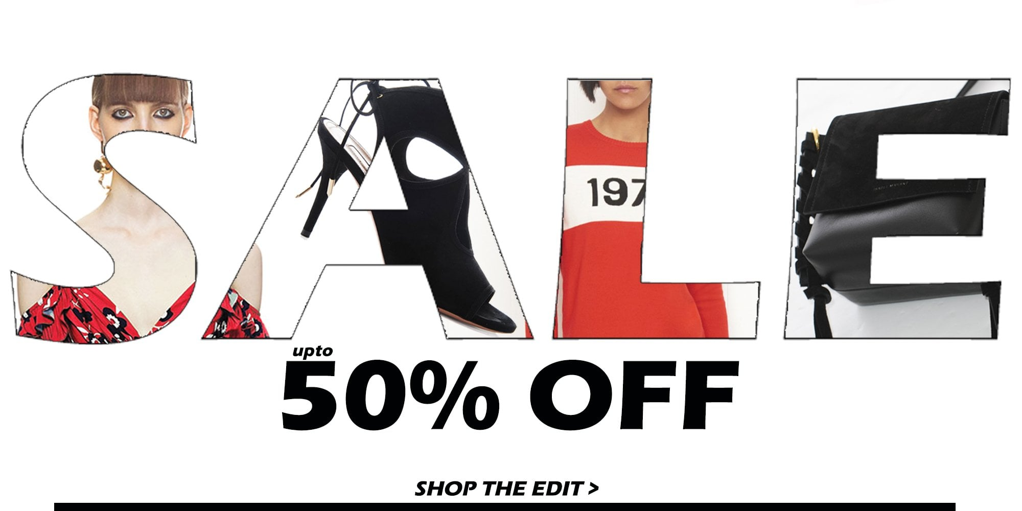 Sale now on! upto 50% off designers you love, shop must have pieces at amazing prices