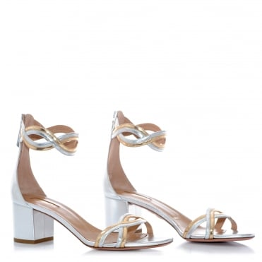 Moon Ray Metallic Heel