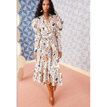 Nanette Tree Of Life Midi Dress