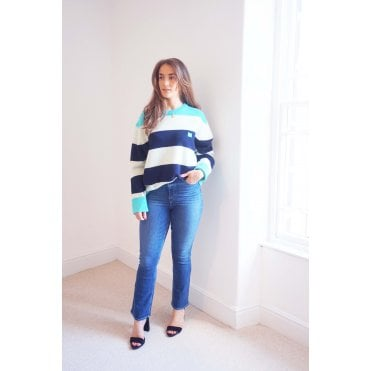 Nimah Face Block Stripe Jumper