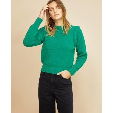 Norah Shoulder Detail Jumper