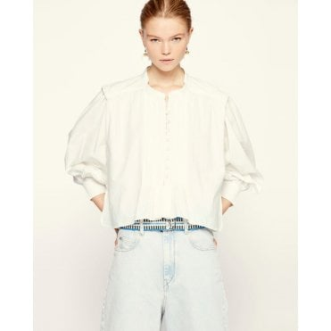 Okina Shoulder Detail Shirt