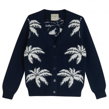 Palm Tree Cardigan