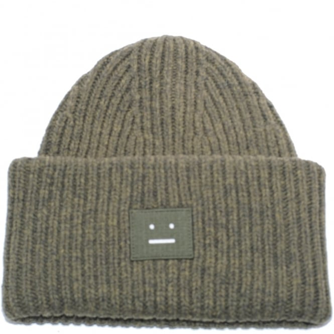 5a0e349c Acne Studios Pansy Face Beanie Hat, Wool Knit, Womenswear, shop now