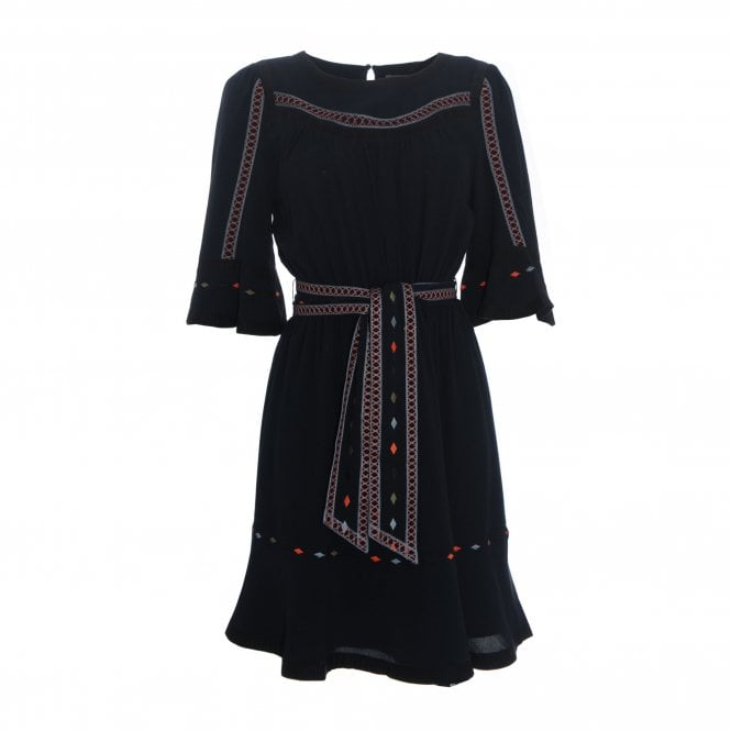 Plaze Embroidered Dress