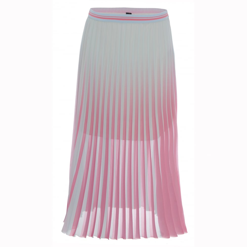 Marc Cain Collections Plisse Midi Skirt aa3f60295