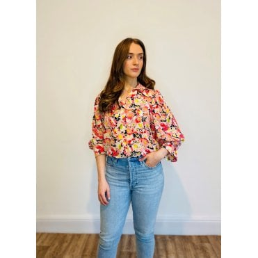 Reese Watercolour Floral Shirt