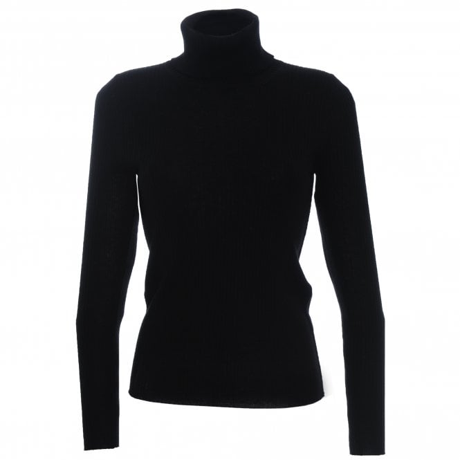 Rib Polo Neck Jumper