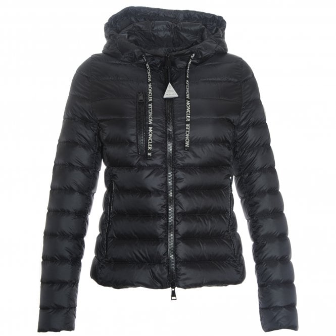 Seoul Sporty Quilt Hooded Jacket