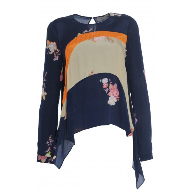 Svana Floral Long Sleeved Top