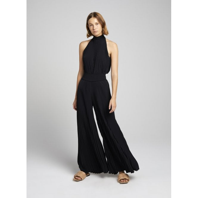 Tamar Pleat Wide Leg Trouser