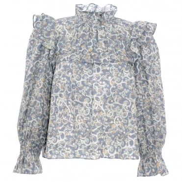 Ted Linen Blouse