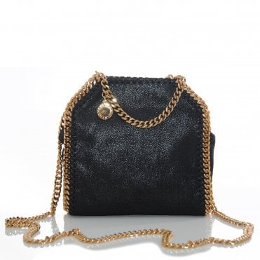 Tiny Falabella With Gold Chain