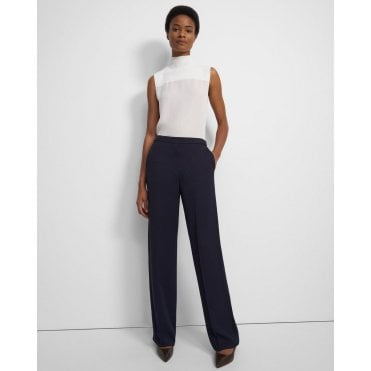 Wide Pull On Trousers