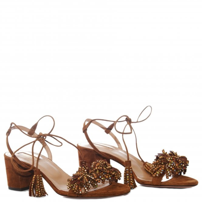 Wild Thing Crystal Sandals