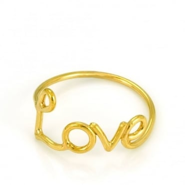 Written Love Ring
