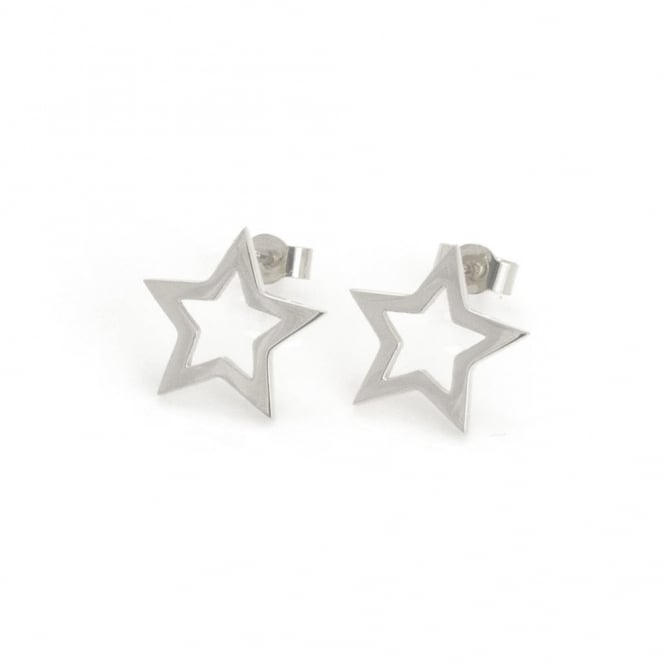 Written Star Stud Earring